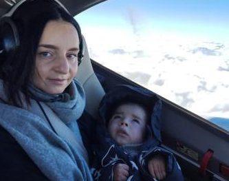 Der erste Flug im neuen Jahr mit Nathaniel