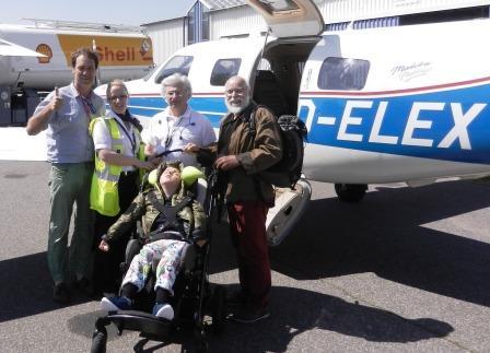 Toller Einsatz von Pilot Kurt Levy für den 12jährigen Romeo