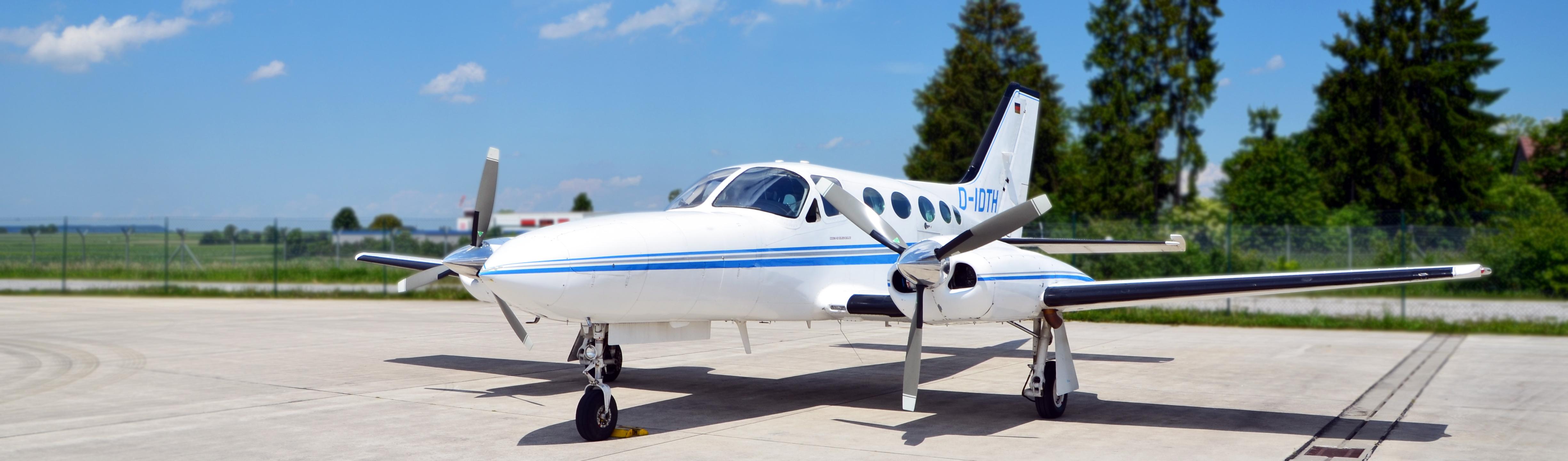 Flugzeug Cessna 421
