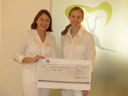 3.500 € Spende für Flying Hope – Herzlichen Dank