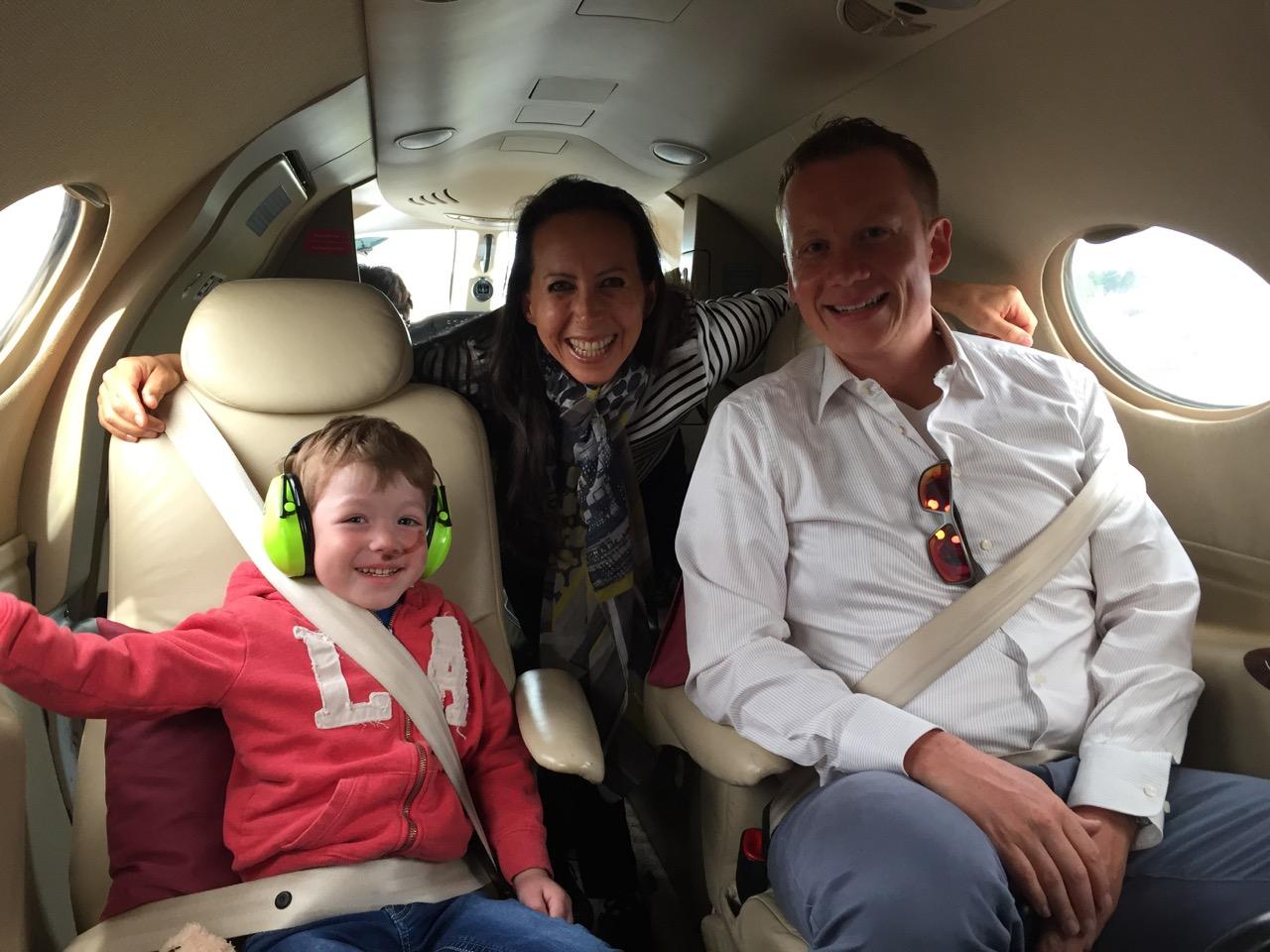 NDR berichtet über Flying Hope Flug