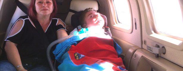 Ein kurzer Flug für Jared auf die Insel Rügen