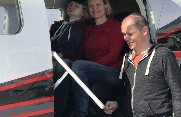 Schneller Flug für Jascha mit einer Socata TBM 900