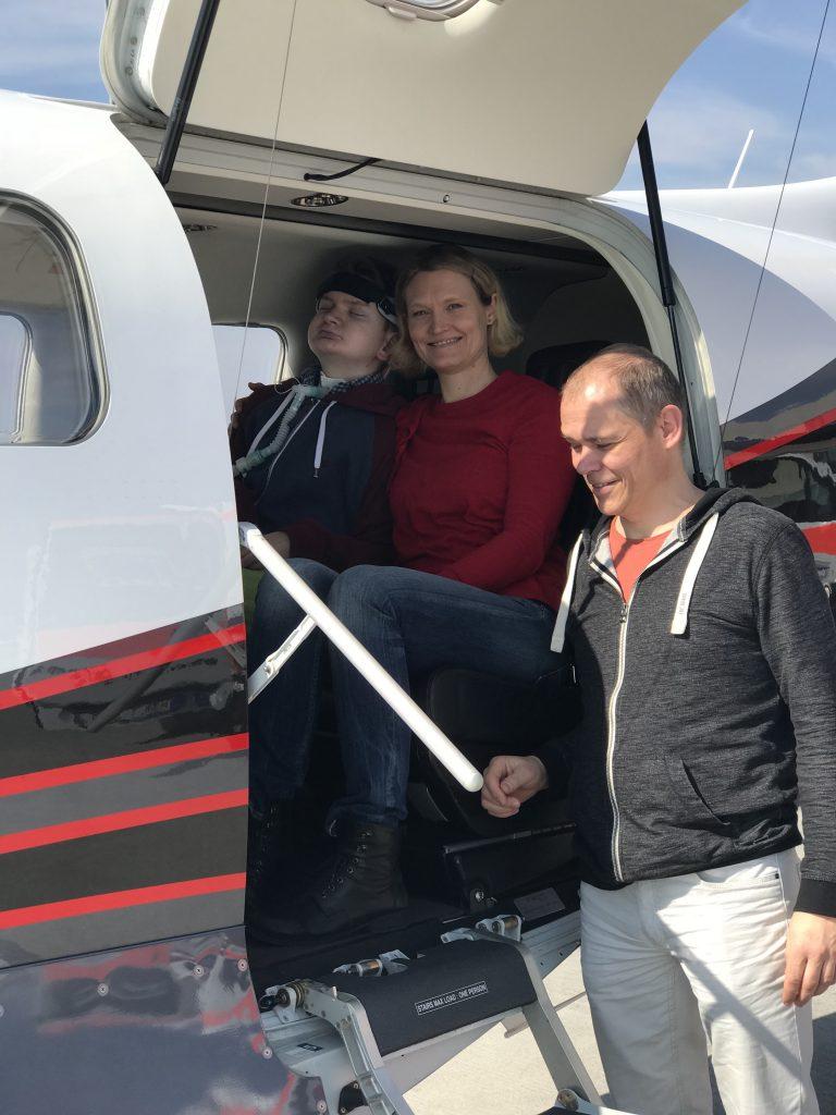 Jaschas schneller Flug mit einer Socata TBM 900