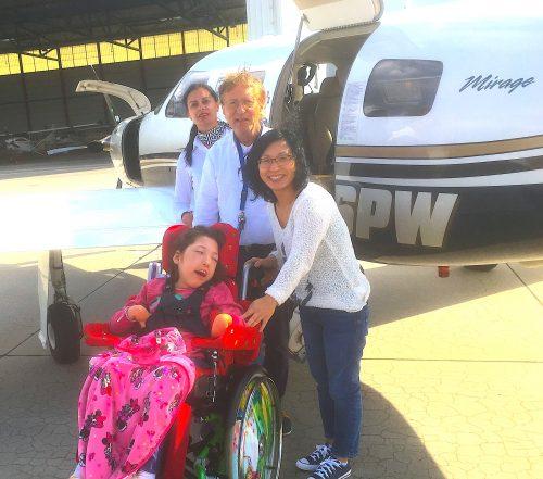 Ein schneller Flug für Yena Marie