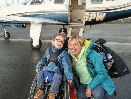 Bild-Zeitung berichtet über Flug mit Noam