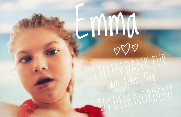 Ein Dankeschön von Emma