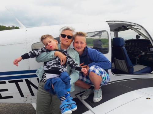Sönke und Jannik fliegen mit Flying Hope