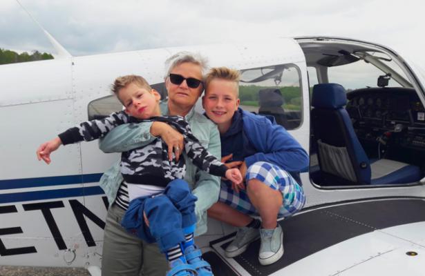 Sönke und Jannik unterwegs mit Flying Hope
