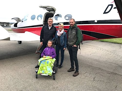 Zwei Flüge an einem Tag für Lilli