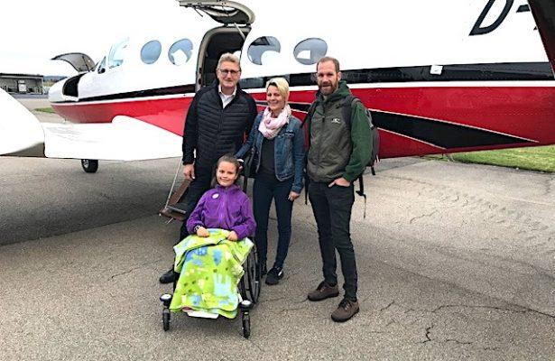 Zwei Flüge für Lilli an einem Tag