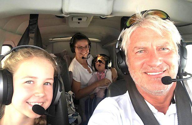 Anni und Maja fliegen an den Chiemsee