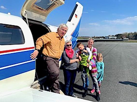 Sören fliegt zur Kur nach Usedom