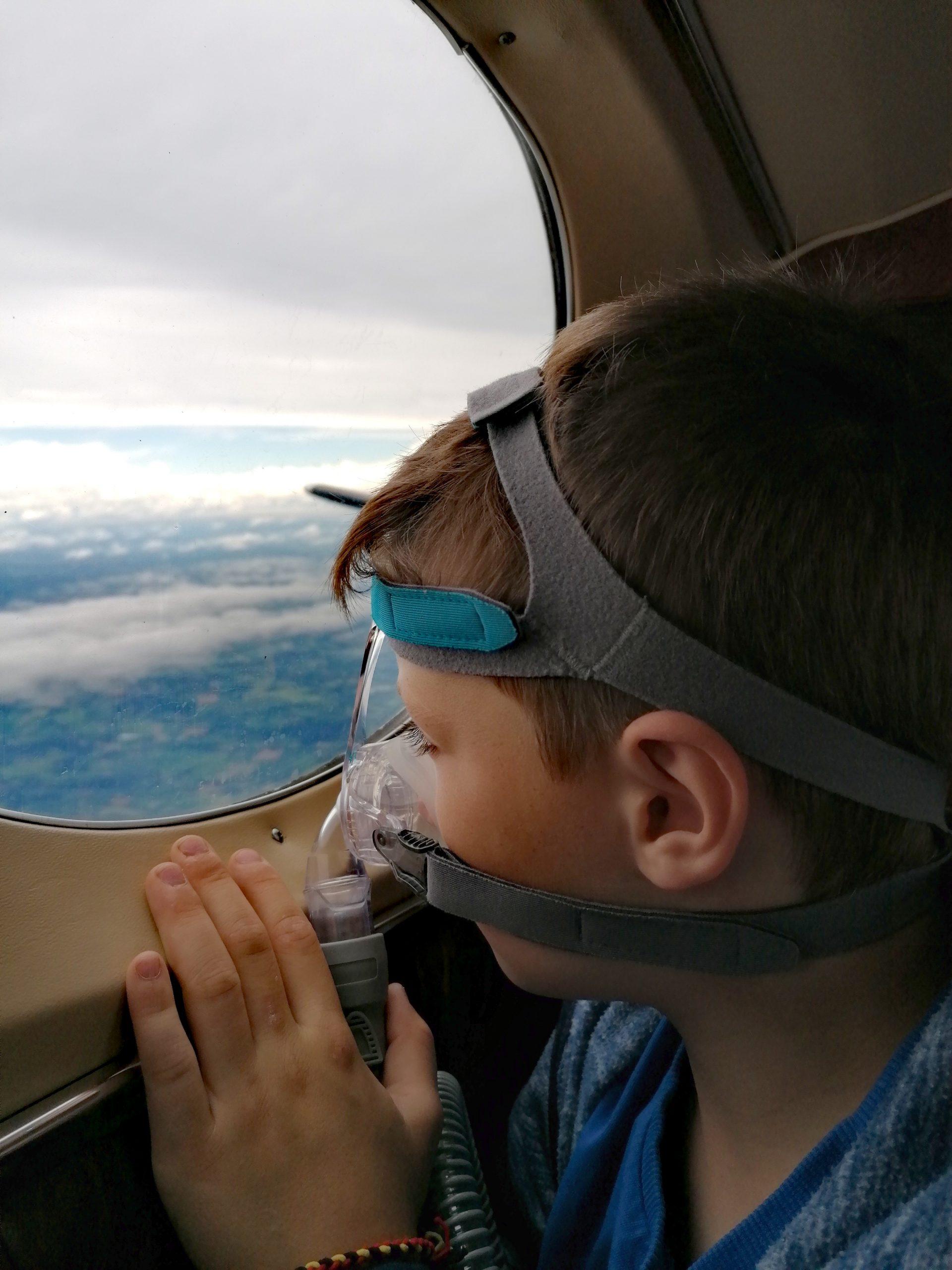 Rückflug aus dem Hospiz