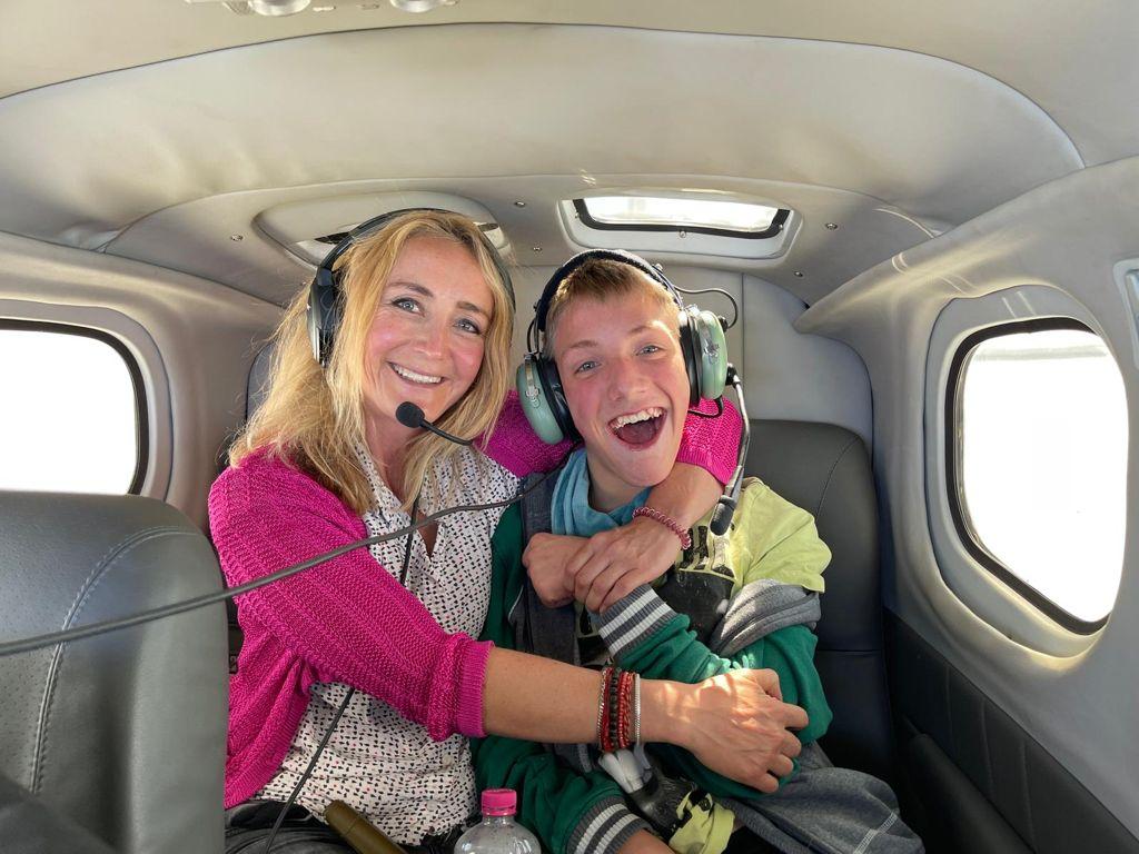 Enno und Hauke sind begeisterte Flieger.