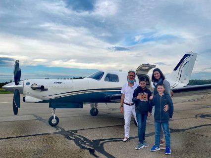 Lias fliegt nach Friedrichshafen